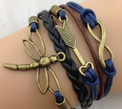 Infinity - Gold, Arrow - Navy