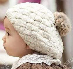 Knit Hat - Beige