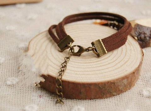 Leather Strap - Red Fox