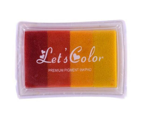 Stamp Pads - Multicolor Premium - Yellow