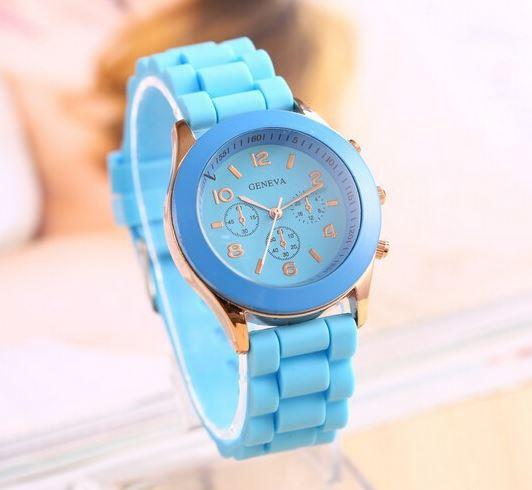 Light Blue Wristwatch