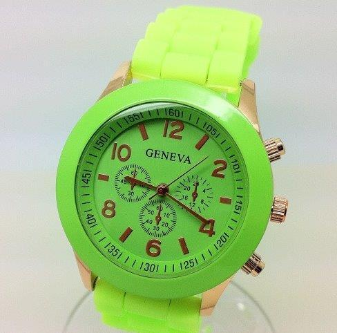 Luminous Lime Wristwatch
