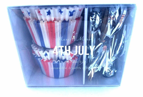 Meri Meri - 4th of July Cupcake Kit