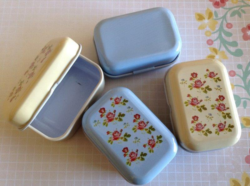 Mini Tin Box - English Rose