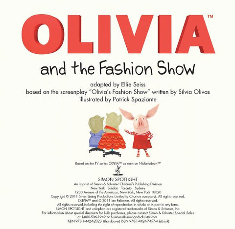 Olivia and the Fashion Show - Ellie Seiss