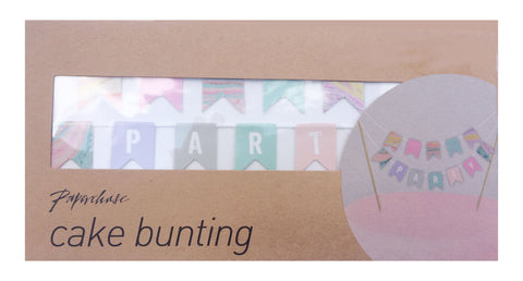 Paperchase Party Cake Bunting