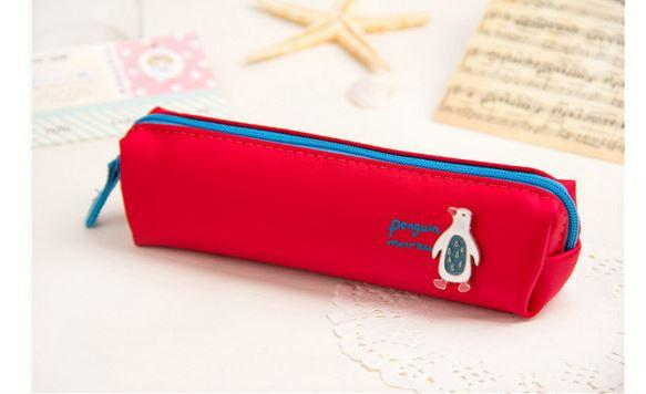 Animal Life Penguin Red - Pencil Case