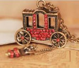 Red Carriage Pendant