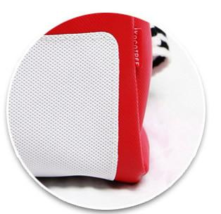 Red Vinyl With Bear Decal