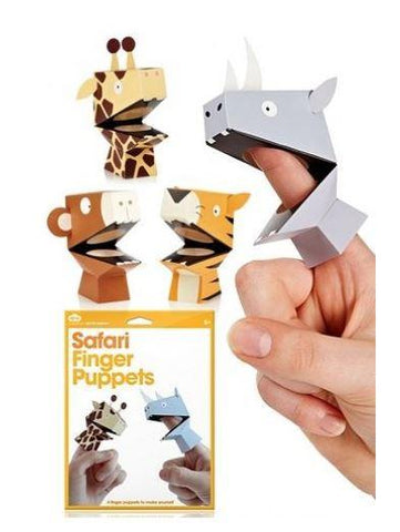 Safari Finger Puppets (4)