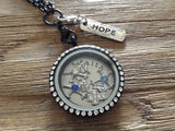 Silver Hope Pendant Tag
