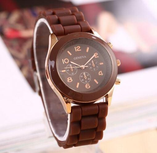 Soft Brown Wristwatch