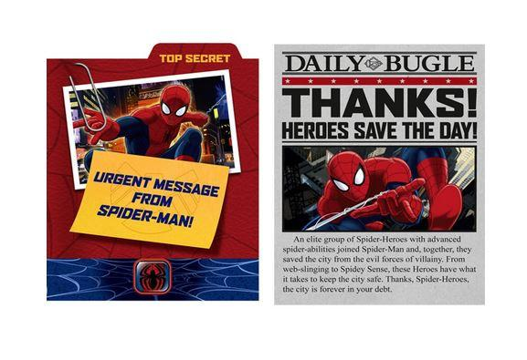 Spiderman Invitations & Thank You Cards (8)