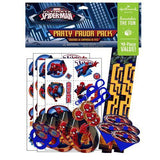 Spiderman Party Favor Pack (48)