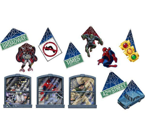 Spiderman Room Transformation Kit (12pcs)