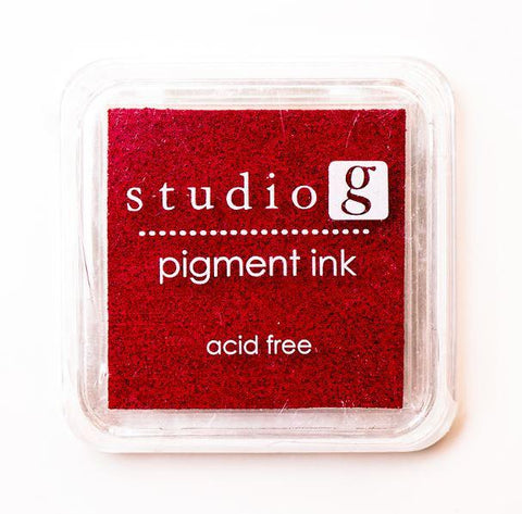 Stamp Pads - Studio g - Red
