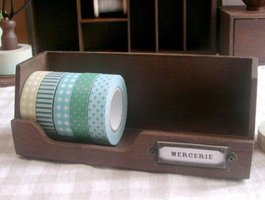 Tape Holder Wood