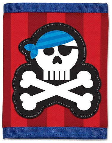 Stephen Joseph Pirate Wallet in Red