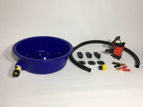 BLUE BOWL PAN GOLD Prospecting CONCENTRATOR -NOW WITH LEG LEVELERS! AUSSIE SUPPLIER!