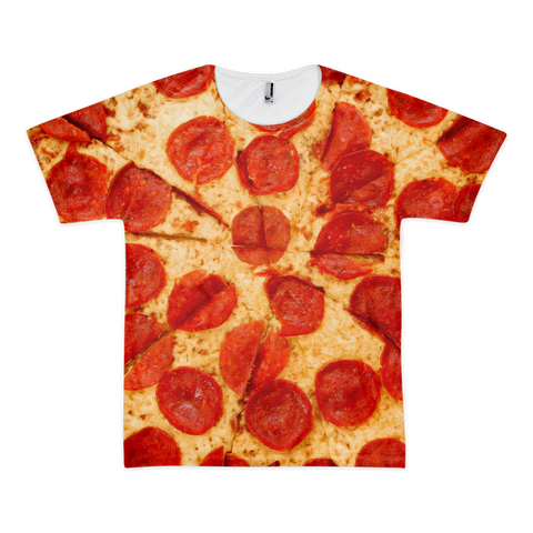 All-Over Pepperoni Print Tee (American Apparel)