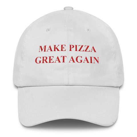 Make Pizza Great Again! Cap (White)