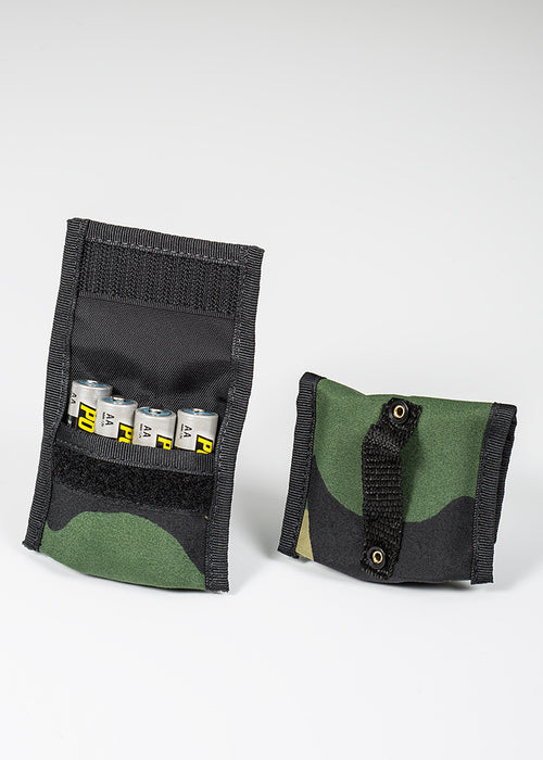 Battery Pouch AA 4+4 - Forest Green Camo