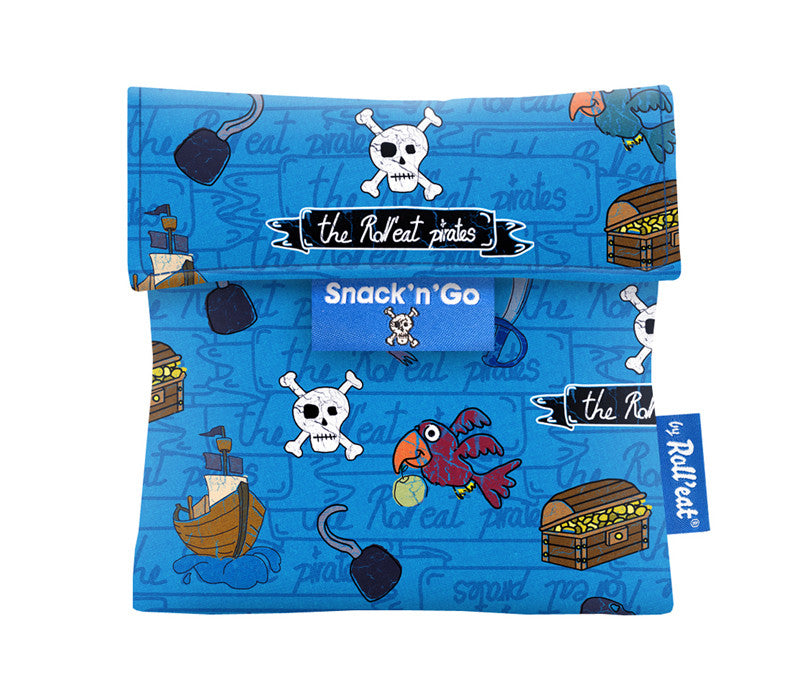 Roll'Eat Snack'n' Go -Kids Pirates Blue