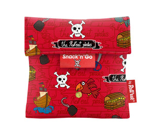 Roll'Eat Snack'n' Go -Kids Pirates Red