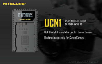 UCN1 Camera Charger (Canon)