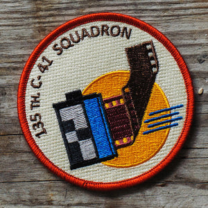 C-41 Film Squadron Embroidered Patch
