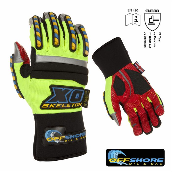 Dirty Rigger OffShore Oil Rigging Heavy Duty Gloves