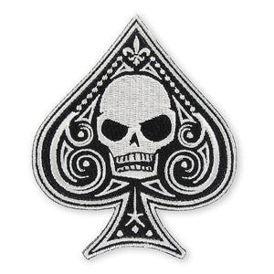 PDW Memento Mori Ace Of Spades Morale Patch - Type 1