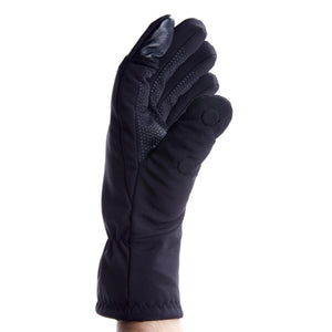 Softshell Glove with zipper pocket