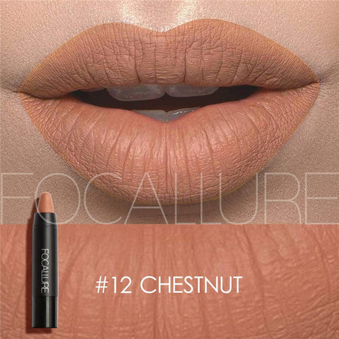 FOCALLURE Matte Lipstick (Chest Nut)