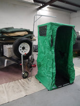 2010 All Terrain Full Off Road Camper Trailer shower and toilet tent