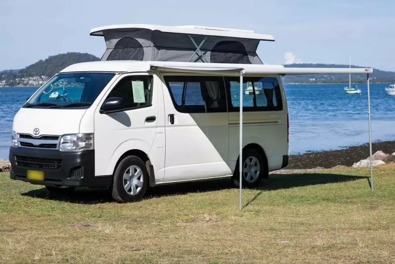2014 Toyota Hiace Campervan Package