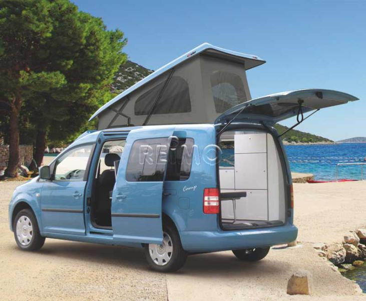 VW Caddy Maxi Pop Top Roof - LWB from 2008