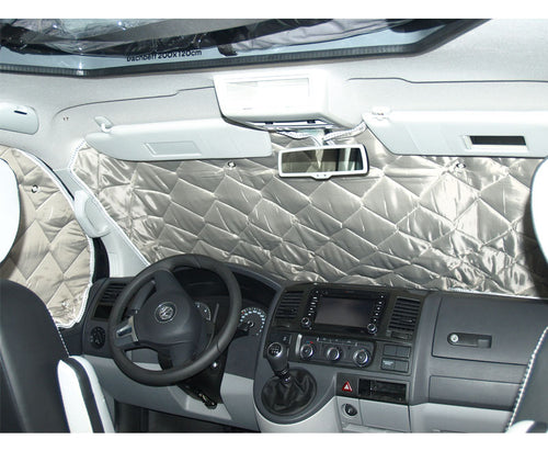 VW T5 Transporter Drivers Cab Solar/Thermal Shield - Isoflex Thermal Shield for VW T5 Drivers Cabin