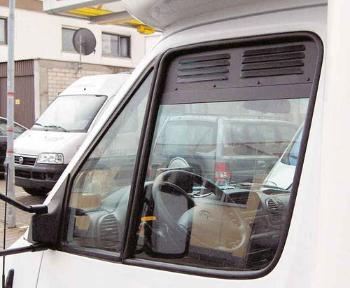 Mercedes Benz Sprinter Window Security 0Grilles