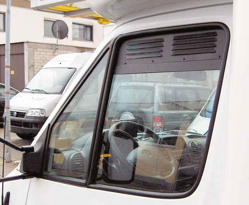 Mercedes Benz Sprinter Window Grills