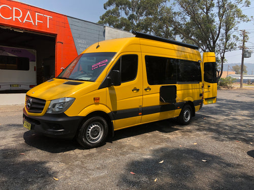 2014 Mercedes Benz Sprinter - MWB - High Roof