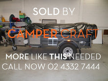 SOLD - 2014 Customline Adventure Walk-up Off Road Camper Trailer
