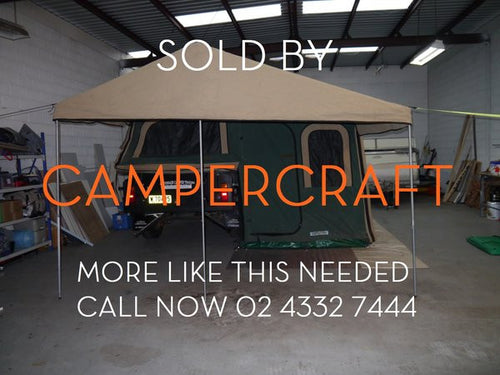 SOLD - 2010 All Terrain Full Off Road Camper Trailer