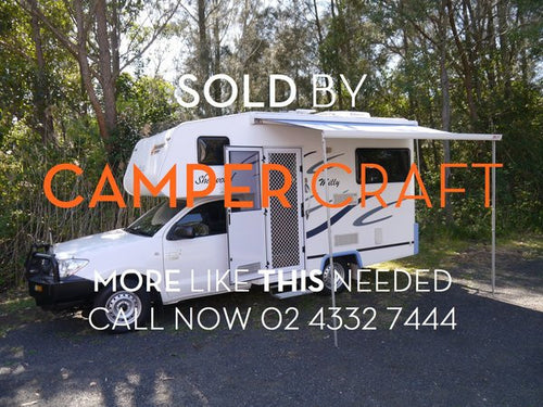 SOLD - 2009 Toyota Hilux Workmate - Suncamper Sherwood
