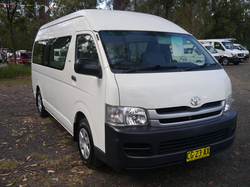2008 Toyota Hiace Commuter Camper Package
