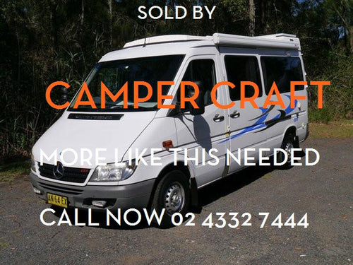 SOLD - 2006 Mercedes Sprinter Pop-top Motorhome