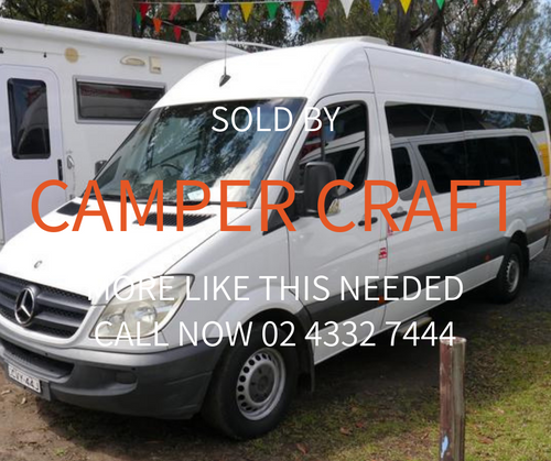 SOLD - 2008 Mercedes Benz Sprinter - LWB - High Roof - Automatic