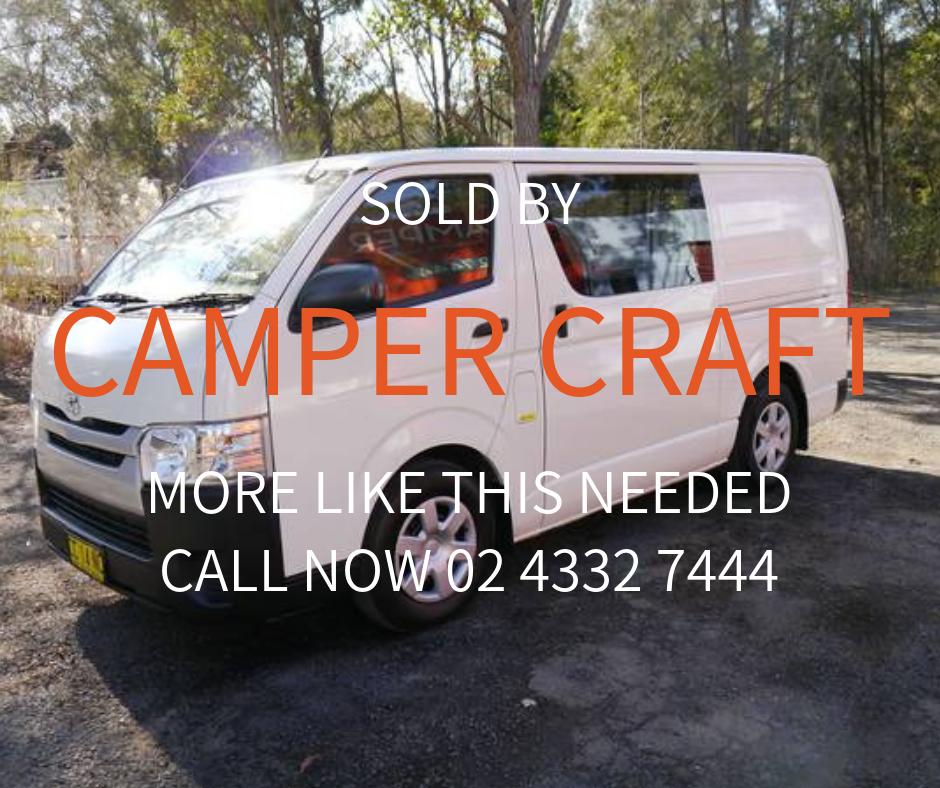 SOLD - 2014 Toyota Hiace LWB - Ready For Conversion