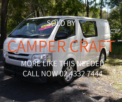 SOLD - 2015 Toyota Hiace Campervan Package