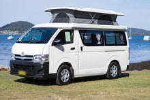2017 Toyota Hiace Campervan - Rock N Roll Bedseat Floorplan